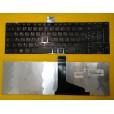 Клавиатура для ноутбука Toshiba C55-A C55D-A C55T-A C55 C55DT C55D C55T глянцевая, чёрная, с русским