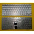 Клавиатура для ноутбука Sony SVE14A белая с синим, с русскими буквами  (для Win8, без рамки) P/N 149