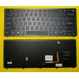 Клавиатура для ноутбука Sony SVF14N чёрная, с русскими буквами  (с подсветкой, для win8) P/N 1492637