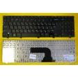 Клавиатура для ноутбука Dell Inspiron 15 3521 15R 5521 2521 глянцевая чёрная, с русскими буквами (дл