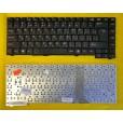 Клавиатура для ноутбука Fujitsu D1840/N356S1/N351S4 с русскими буквами, чёрная P/N 71-U32240-21