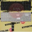 Клавиатура для ноутбука MSI GE60 GT60 GE70 GT70 16F4 1757 1762 13GC чёрная с рамкой, русские буквы P