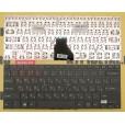 Клавиатура для ноутбука Sony FIT 14E чёрная, с русскими буквами, без рамки P/N 149287661RU AEGD57000