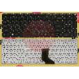 Клавиатура для ноутбука Acer Aspire E11 ,E3-111, ES1-111, ES1-111M черная с русскими буквами