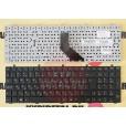 Клавиатура для ноутбука DNS 0164801, 0164802, Clevo  без рамки, большой ENTER, с русскими буквами Cl