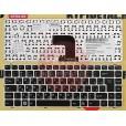 Клавиатура для ноутбука DNS QTA10, MP-11P16SU-6981, MP-11P16SU-C851 черная, с русскими буквами