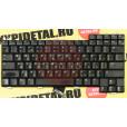 б/у Клавиатура для ноутбука HP PRESARIO 2500 черная, с русскими буквами AEKT1TPU011