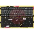 Клавиатура для ноутбука Lenovo 320-15ABR, 320-15AST 330-15 Series. Плоский Enter. Черная, без рамки.