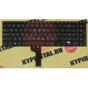 Клавиатура для ноутбука Asus PU500, PU500CA, PU551, PU551JA, PU551LA черная, с русскими буквами P/N