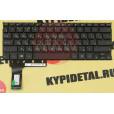 Клавиатура для ноутбука Asus E202, E202M, E202MA, E202S, E202SA, TP201SA черная, без рамки, с русски