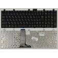 Клавиатура для ноутбука MSI A7005, CR500, CR600, CR610, CR720 Series. Г-образный Enter. Черная, без