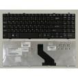 Клавиатура для ноутбука DNS 0124002 0129303 LG R580, R590, R560 Series. Плоский Enter. Черная, без р