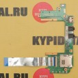 б/у Плата портов для ноутбука Asus EEE PC1201HA USB Audio Board 60-0A1RI02000- A02 +шлейф