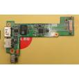 б/у Плата с аудио USB LAN разъемами Fujitsu Siemens Sa 3650 48.4H803.001