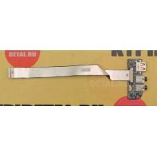 б/у USB плата для ноутбука DNS 0150166 P/N 71-W2408-D03