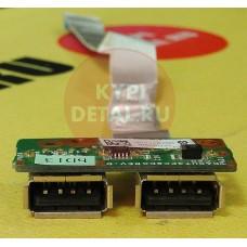 б/у USB плата для ноутбука HP DV7 DV6-1000 DV6-6000 DA0UT3PC8D0