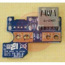 б/у USB плата для ноутбука Toshiba Satellite L850D PL/CS SUB BRD 8L