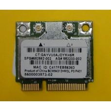 б/у Wi-Fi модуль для ноутбука HP DV6-1400 Compaq 615 610 BCM94312HMG