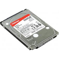 """HDD 500Gb Toshiba SATA-II HDWJ105EZSTA L200 (5400rpm) 8Mb 2.5"""" Rtl"""