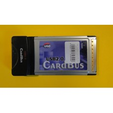 б/у CardBus Card USB 2.0 (transfer speed of up to 480Mbps)