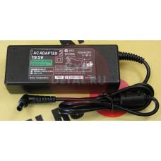 Блок питания для ноутбука Sony 19.5V 4,7A 6.5x4.4мм с иглой, 90W, без сетевого кабеля VGP-AC19V20 FS