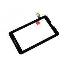 Тачскрин (сенсорное стекло) Lenovo IdeaTab A3000 чёрный