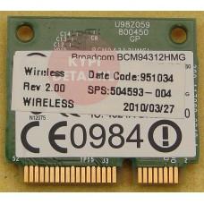 б/у Wi-Fi модуль для ноутбука HP ProBook 4515S BCM94312HMGL
