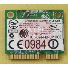 б/у Wi-Fi модуль для ноутбука DNS W170RE BCM94312HMG