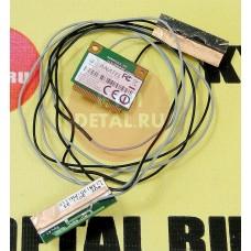 б/у Wi-Fi модуль для ноутбука DNS MB50IA1 88B105-006210 + антенны 13B130-FM1110
